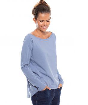 bluzka IZZY 2.0 pudrowy niebieski