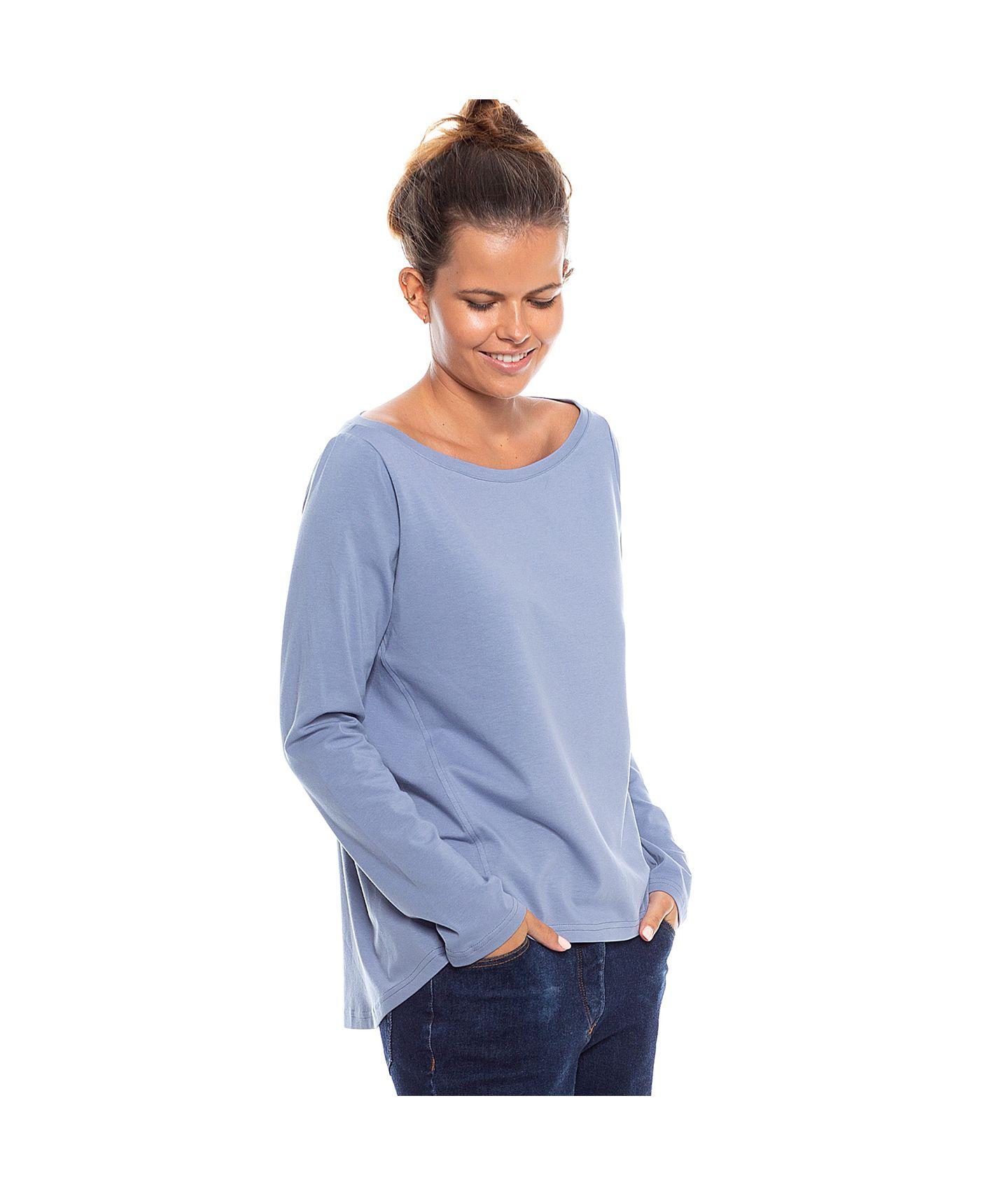 bluzka IZZY 2.0 niebieski