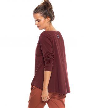 bluzka IZZY 2.0 burgund