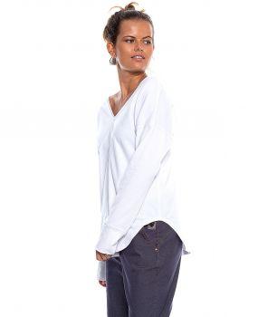 bluzka ISA biały