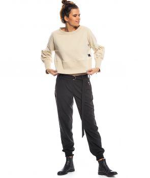 spodnie HANA czarny