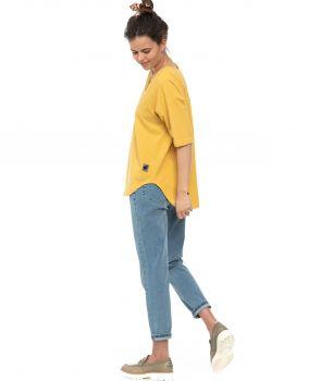 bluzka OYA żółty