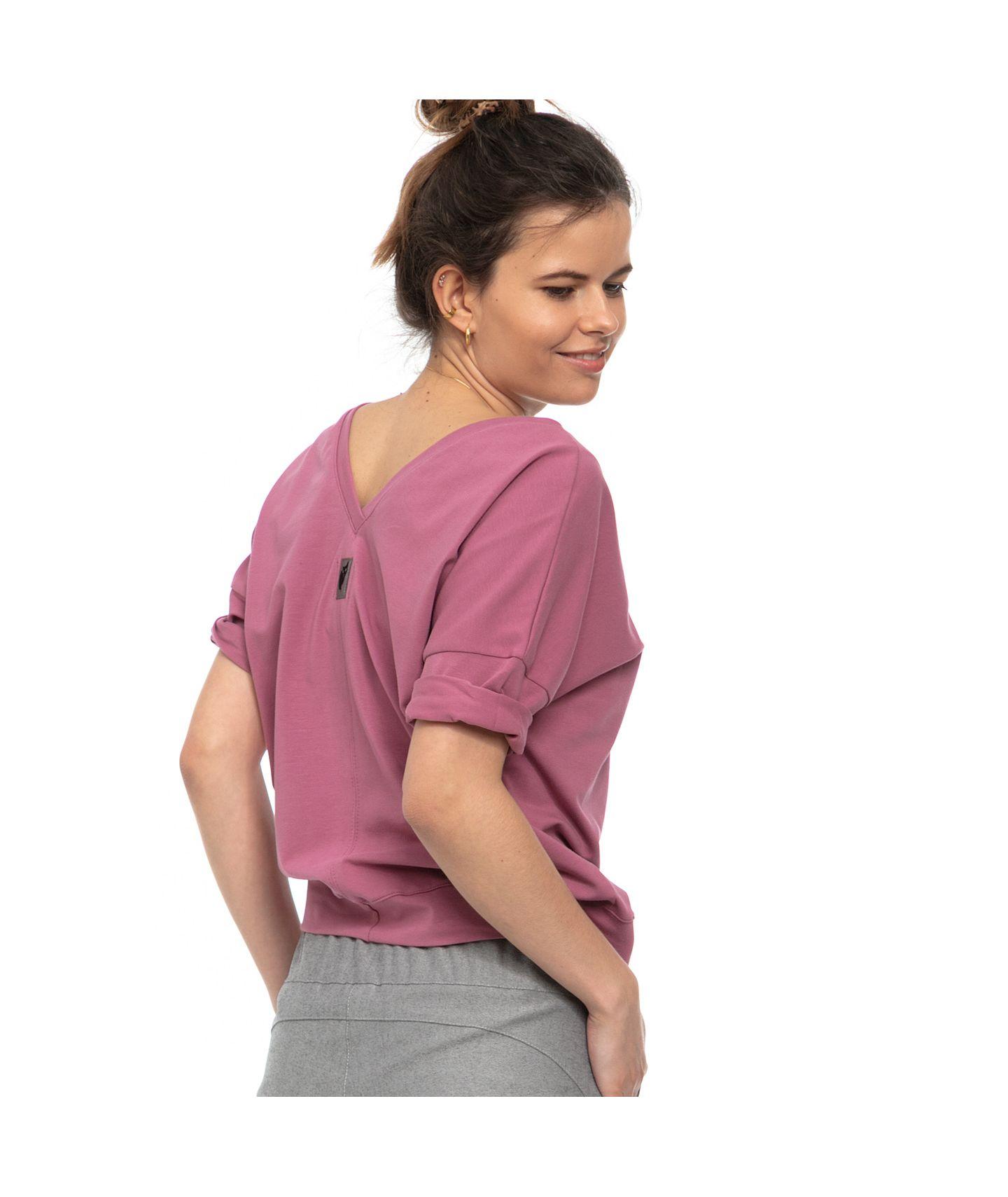 bluzka FLO wrzosowy