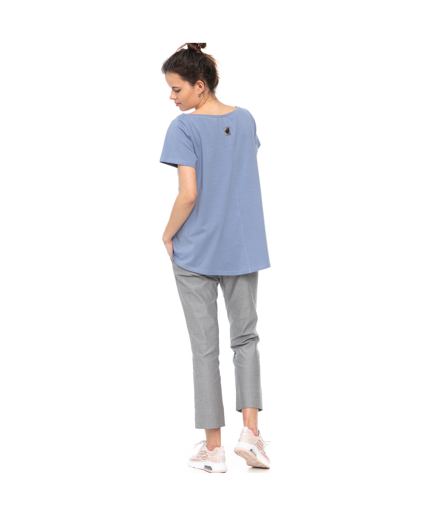 bluzka IZZY pudrowy niebieski