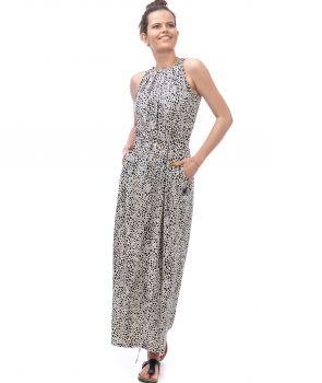 sukienka MELA long wiskoza