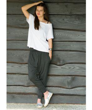 spodnie LUCA PANTS marengo