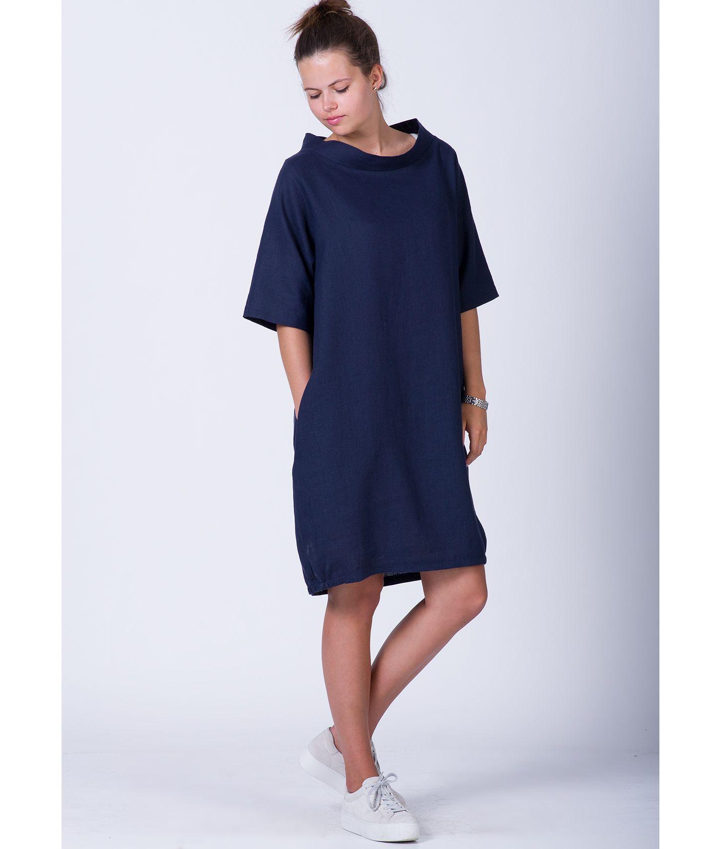 c1af5817802540 sukienka lniana LOU DRESS czas oczekiwania 10 dni