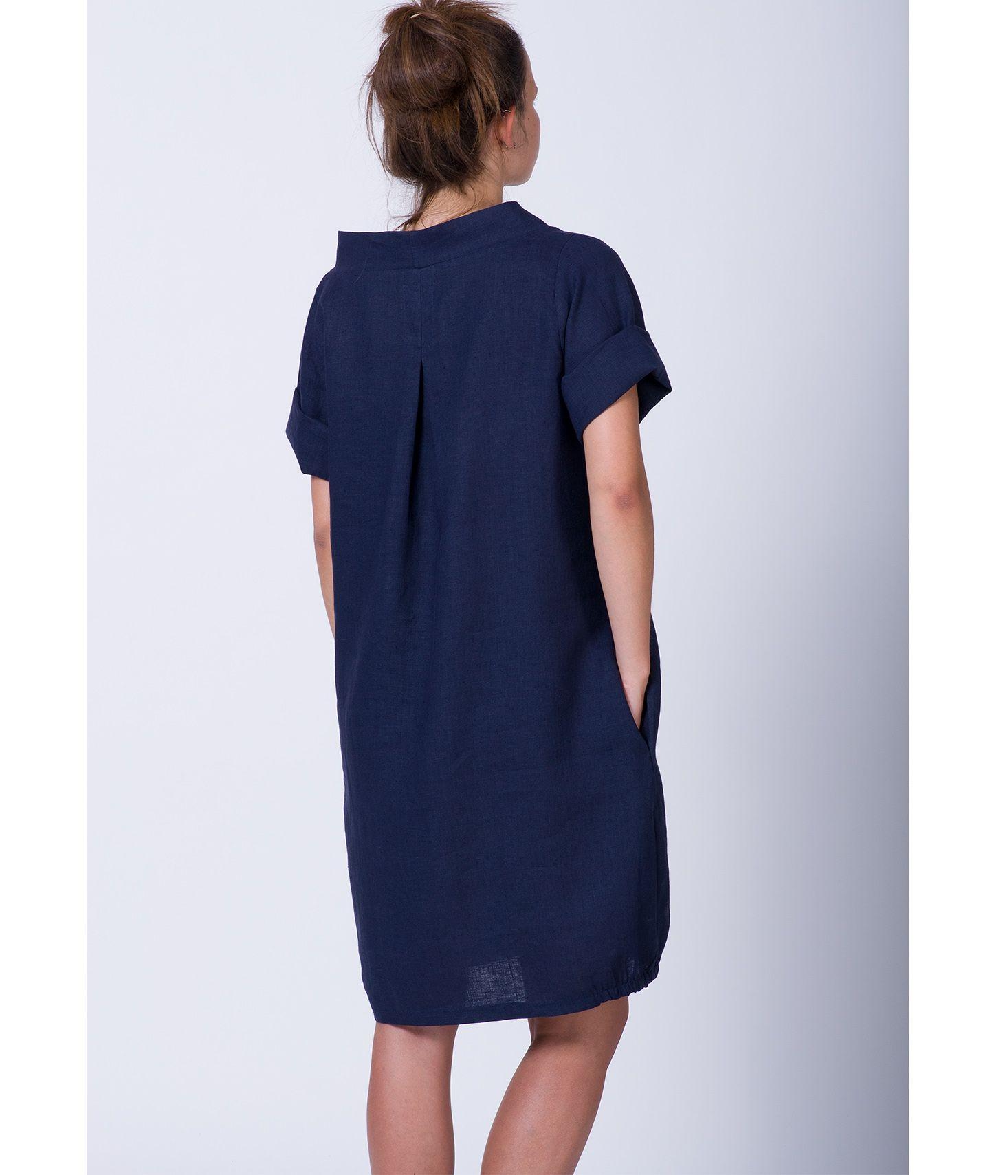 79c783f6a5773b ... sukienka lniana LOU DRESS czas oczekiwania 10 dni ...