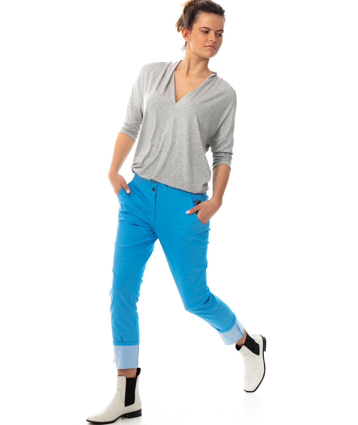 spodnie MAXINE COLOR PANTS
