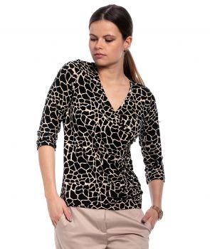 bluzka GIANNA safari BLOUSE