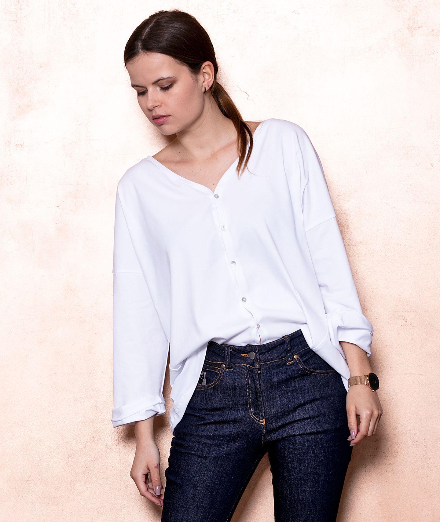 bluzka MARTINI white blouse