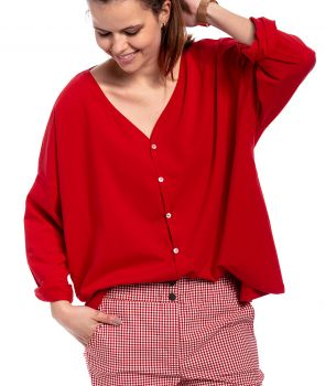 bluzka MARTINI red blouse