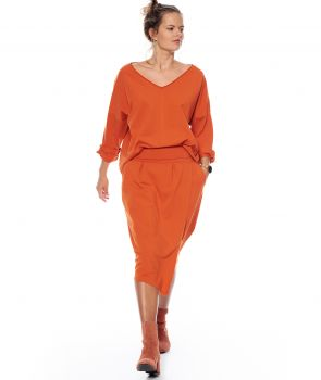 spódnica LEA SKIRT  orange