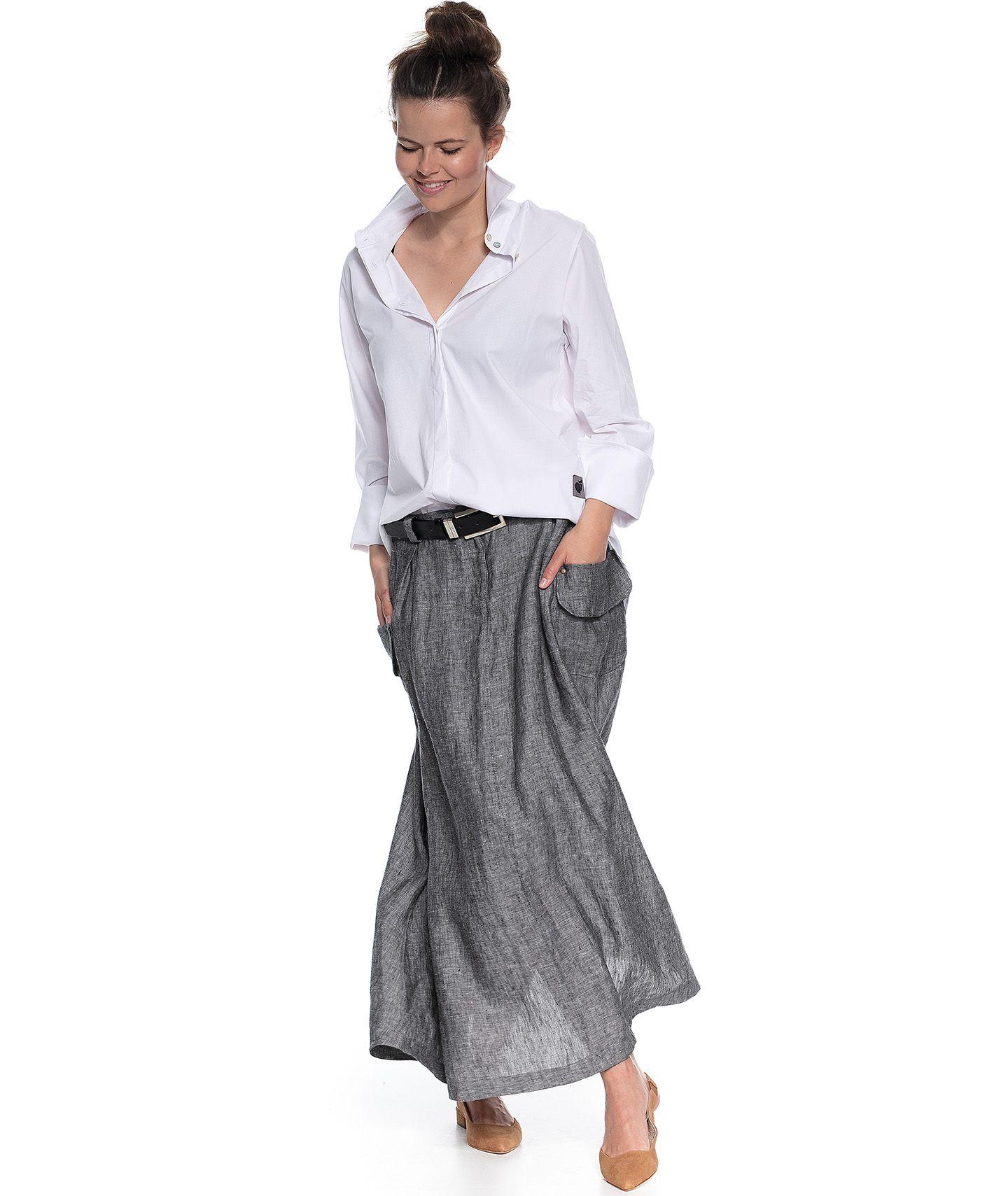 spódnica AVA skirt grey