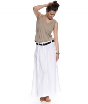 spódnica AVA biały