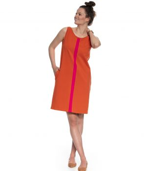 sukienka LIMA rudy