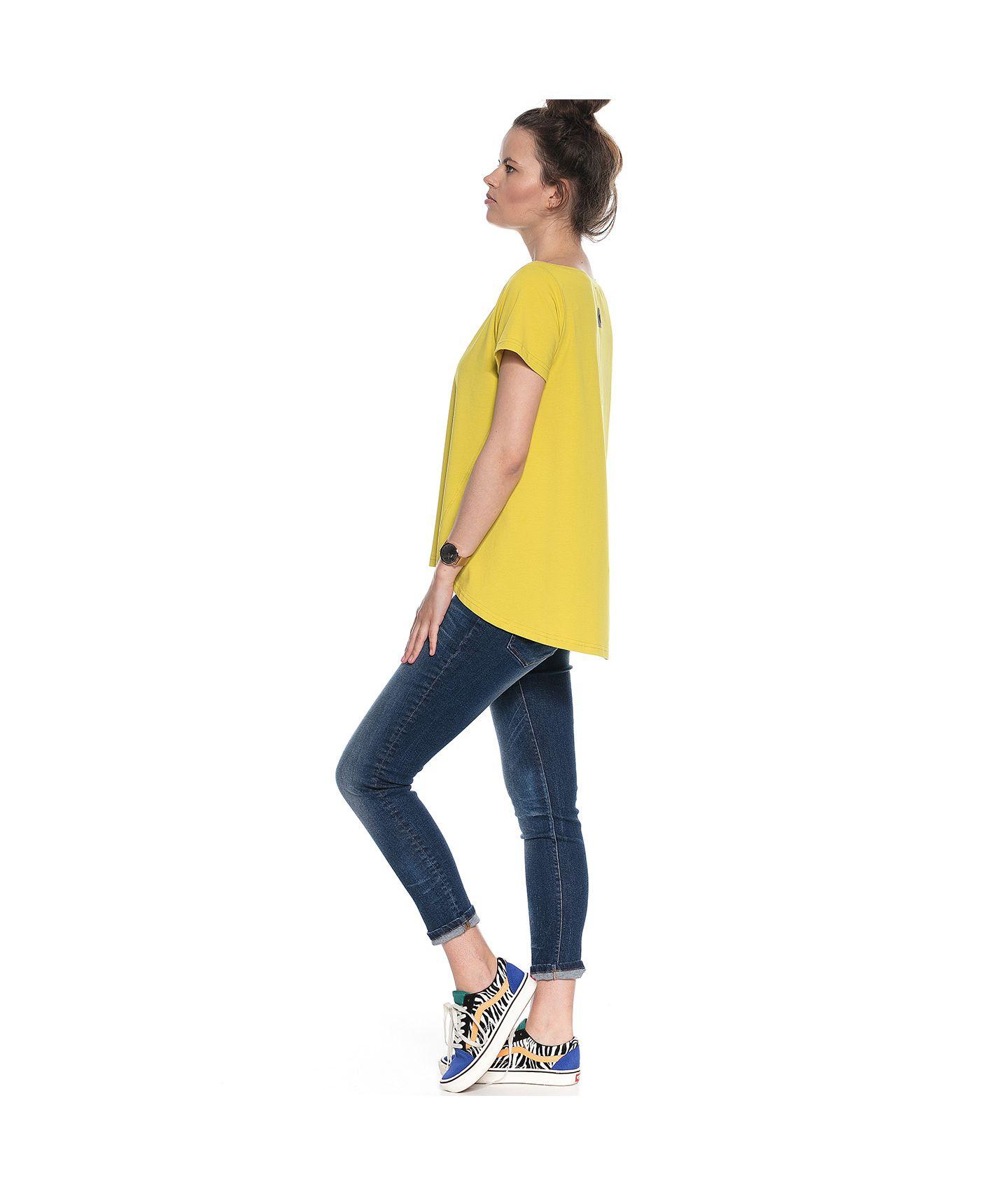 bluzka IZZY limonkowy